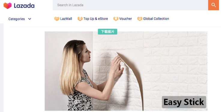 Download Pictures from Lazada